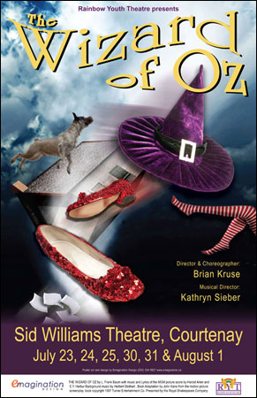 Rainbow Youth Wizard of Oz poster image