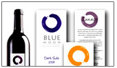 Blue Moon Winery label design link