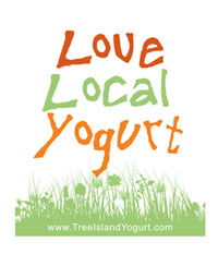 tree island yogurt t-shirt design