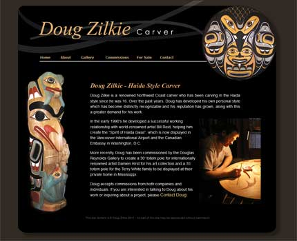 Click to visit Doug Zilkies website